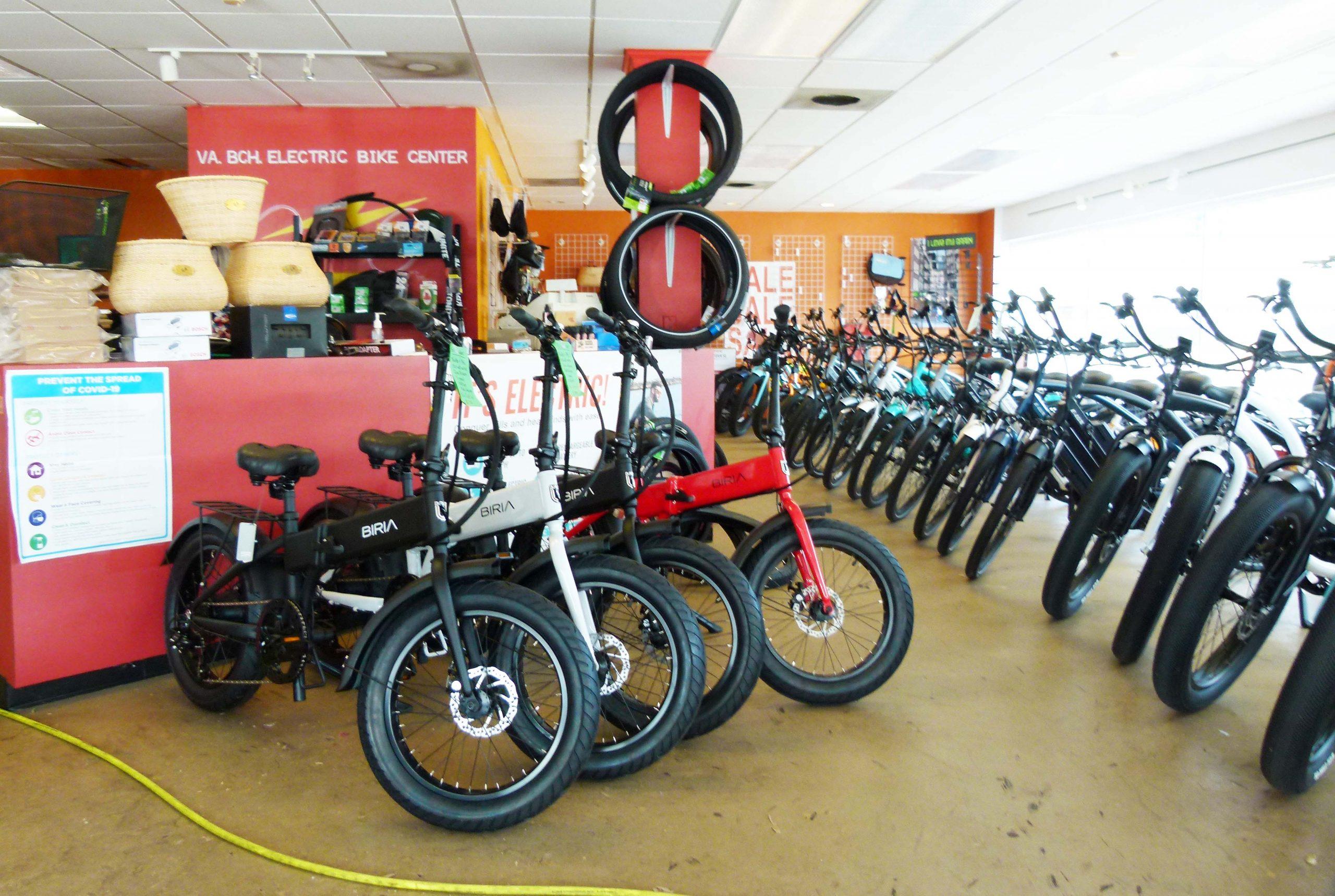 Front Counter of Virginia Beach Electric Bike Center